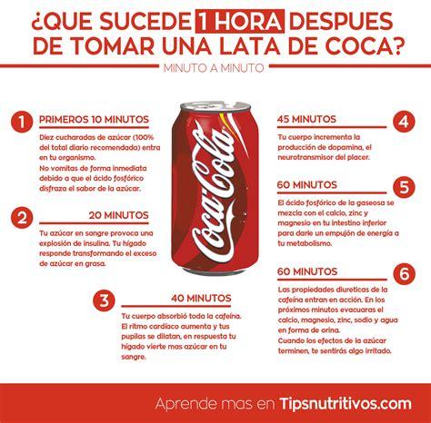 si e coca cola esto es lo que le pasa a tu cuerpo después de tomar una coca