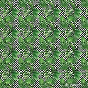 Tapete Geometrische Muster : tapete tropischen palmen verl sst muster geometrische hintergrund pixers wir leben um zu ~ Frokenaadalensverden.com Haus und Dekorationen