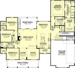farmhouse style house plans farmhouse style house plan 4 beds 2 5 baths 2686 sq ft plan 430 156