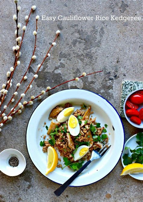 Kedgeree is often thought to be an indian dish, but it was introduced to india by scottish soldiers serving there. Easy Cauliflower Kedgeree + The Easy, No-Mess Way to Make ...