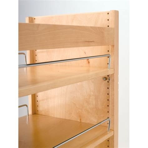 cabinet adjustable shelf hardware rev a shelf 448 tp51 8 1 tall pantry w slide 8inw x 51in h
