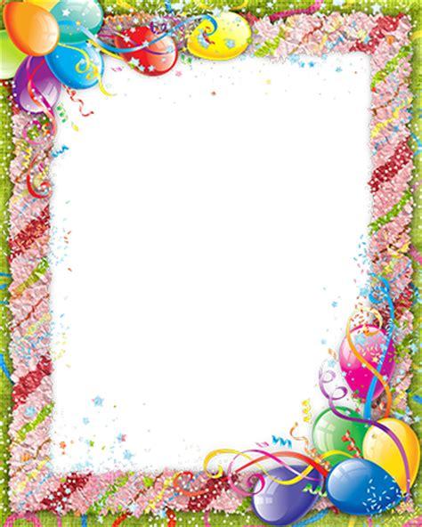 cadres photo cadre photo avec des confettis colores sur