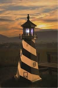 cape hatteras garden lighthouse by dutchcrafters amish furniture