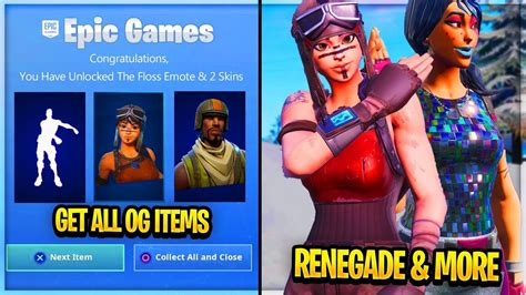 unlock renegade raider  og season  skin