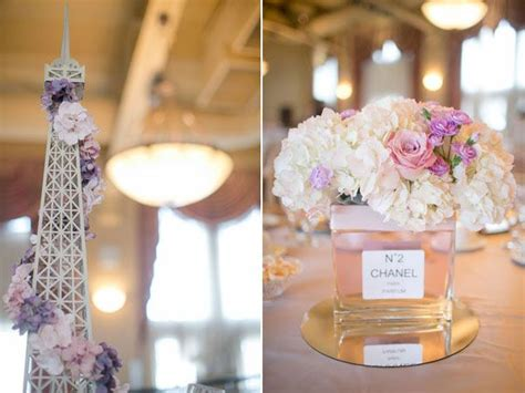 fete  remember  paris theme wedding formal