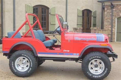 jeep cj renegade 1979 jeep cj renegade cj5 ebay