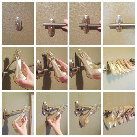 17 best ideas about wall shoe rack on diy shoe