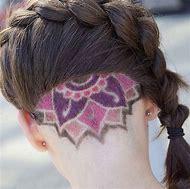Hidden Undercut Hairstyles for Women