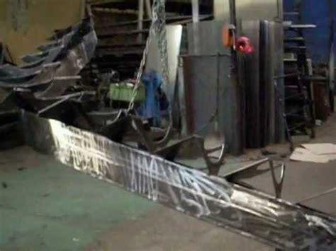 www ferronnerie dargoat fabrication d un escalier a limon central d 233 billard 233