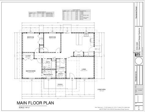 construction house plans ranch house plan pdf blueprint construction documents 19