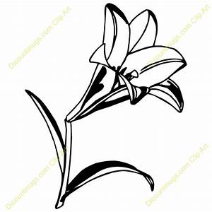 Easter Lily Clip Art – Cliparts