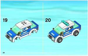 LEGO Patrol Car Instructions 4436, City