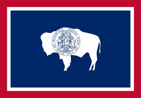 wyoming state information symbols capital constitution