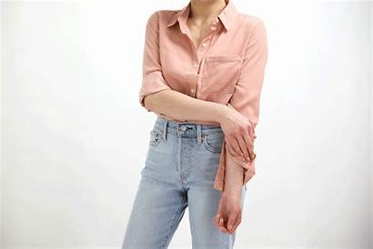 Roll Sleeves Casual Looking Cuff Relaxed Shirt
