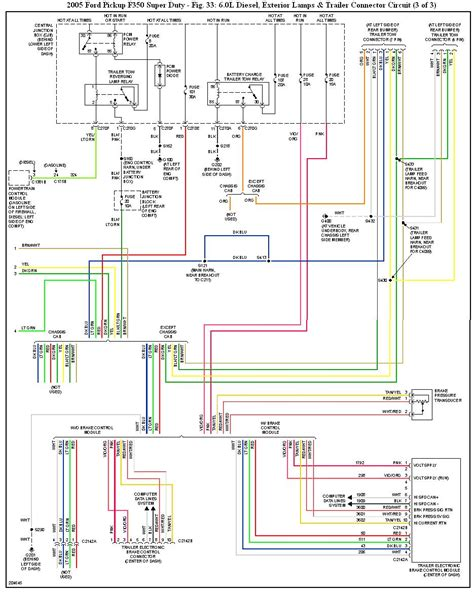 2006 Ford F350 Wiring Diagram by Need A Wiring Diagram For Ford Exclusive Tow Command
