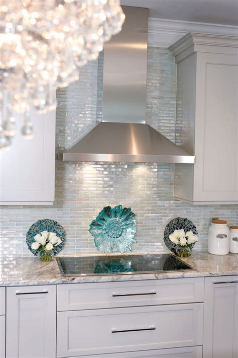 glass backsplash for kitchen iridescent glass tile by lunada bay stainless with
