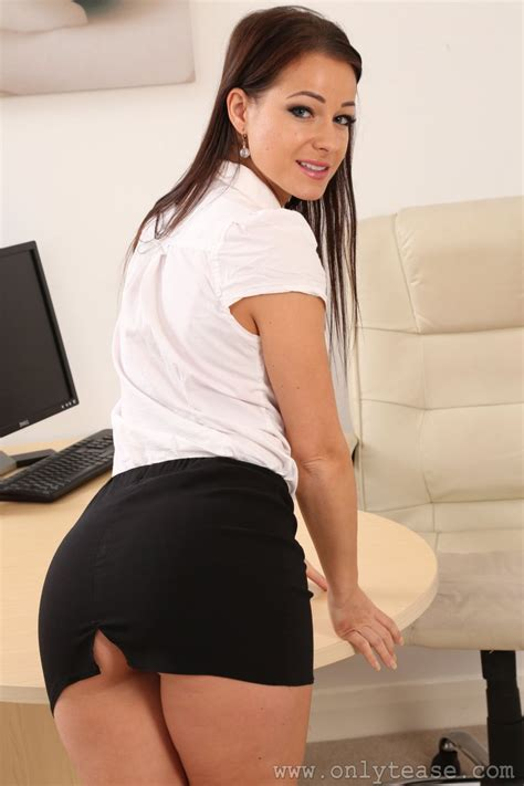 Onlysecretaries Onlytease Kristina Hot Cute Lovely