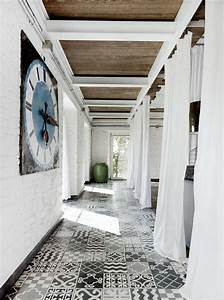 Vinyl Carreau Ciment : sol vinyle imitation carreau de ciment r tro et moderne ~ Teatrodelosmanantiales.com Idées de Décoration