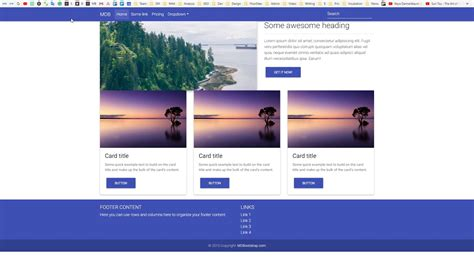 bootstrap  card grid  carddealsreviewco