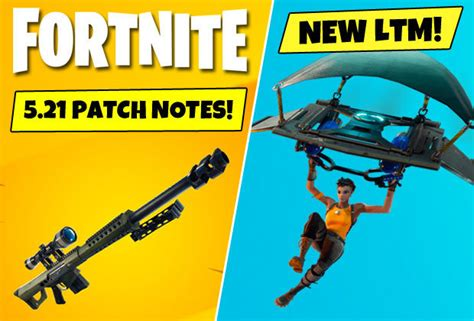 fortnite  patch notes heavy sniper rifle  soaring
