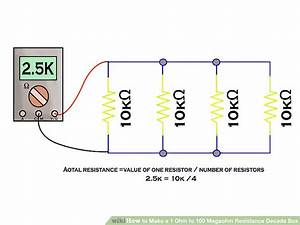 How To Make A 1 Ohm To 100 Megaohm Resistance Decade Box