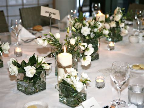 wedding flower table arrangements