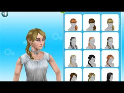 sims freeplay  hairstyles youtube