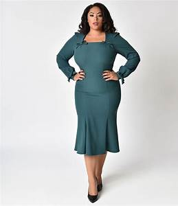 5dc0e6a9f8f 1940s Plus Size Fashion Style Advice from 1940s to Today - satukis.info