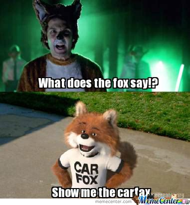 What Does The Fox Say Meme - what does the fox say by loki641 meme center