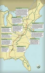 Dubar Illustration  Latest Map  The Great Eastern Trail