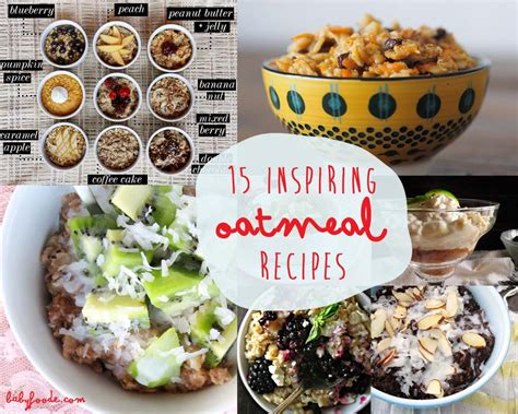 inspiring oatmeal recipes baby foode adventurous recipes for babies toddlers