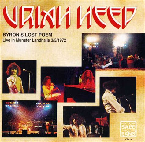 uriah heep byrons lost poem landhalle munster germany