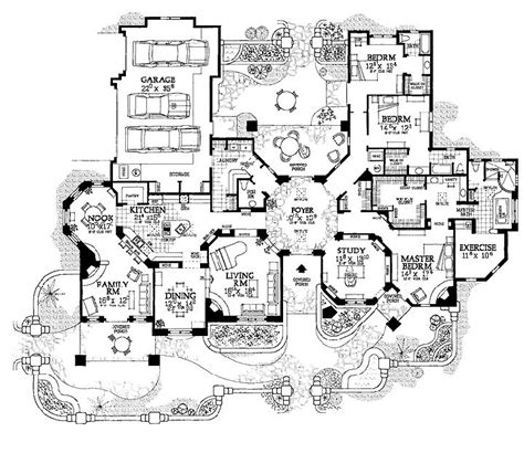 best 25 mansion floor plans ideas on