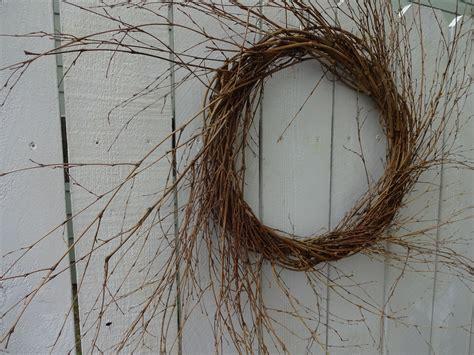 Twig Wreath Large Twig Wreath Rustic Wreath Rustic Door