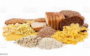 Group Of Carbohydrate Products Stock Photo - Download Image Now
