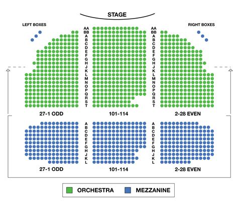 westchester broadway theatre seating chart seating chart broadhurst theatre large broadway seating charts