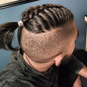 The Man Bun Braids: A Surprising New Men's Hair Trend