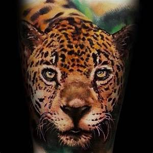 60 Leopard Tattoos For Men