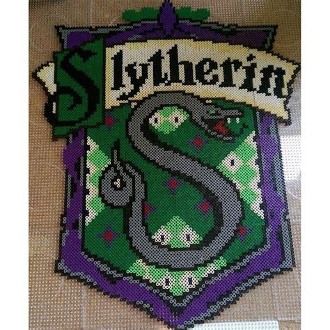 slytherin harry potter perler beads  anca perler