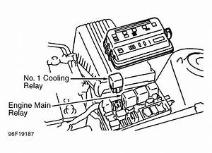 My Fan Engine Fan Is Not Turning Off On My 1997 Camry V6
