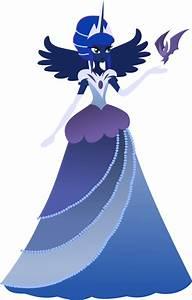 Luna Gala Dress - Humanized by Senwyn1 on DeviantArt