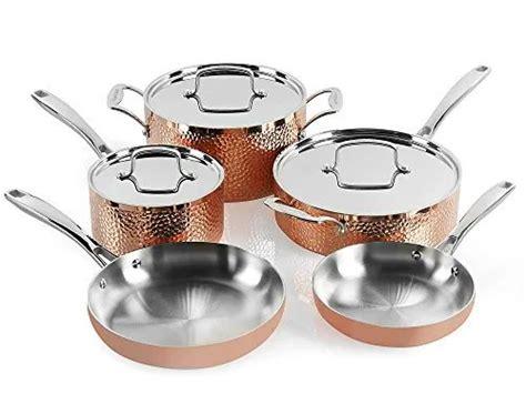 cuisinart hctp  hammered copper set  piece  offer ineedthebestoffercom copper