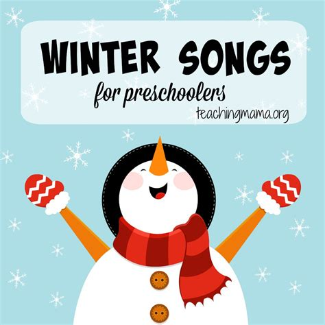 winter theme weekly home preschool what can we do with 410 | Winter Songs for Preschoolers