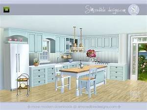Coastal kitchen by simcredible sims 3 downloads cc for Sims 3 interior design kitchen