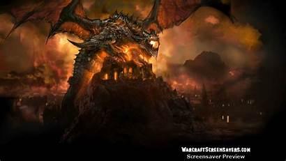 Warcraft Deathwing Screensaver Animated Screensavers Wallpapers Cataclysm