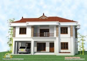 2 floor house 2 house elevation 2743 sq ft kerala home design and floor plans