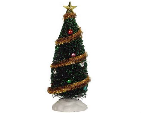 lemax village collection sparkling green christmas tree