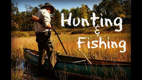 3 Day Hunting, Fishing, Bushcraft Camp YouTube