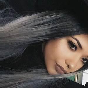 Haarfarbe Schwarz Grau : von schwarz auf grau haare f rben wer hatts schon versucht frisur style fashion ~ Frokenaadalensverden.com Haus und Dekorationen