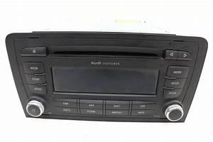 Audi A3 8p 2 0 - Concert Ii   Stereo Radio Cd Player
